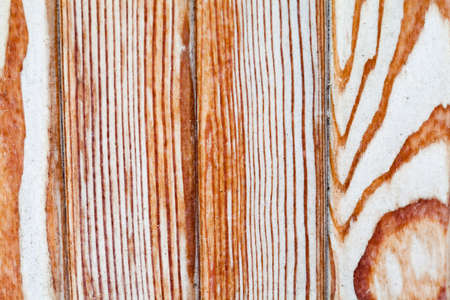planking: Wooden table. wooden tiles, shabby planking texture. Macro view. Stock Photo