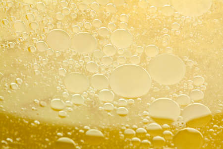champers: Testing abstract yellow liquid.