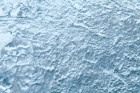 ice crystal: Frozen ice texture closeup. Cold weather concept. soft focus