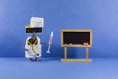 Robotic medicine education poster.