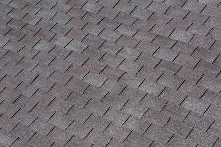 Roofing Shingles black and gray color, roof tile texture. Zdjęcie Seryjne - 79864255