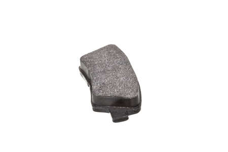 brake pad car spare part, vehicle brakes object isolated on white background, nobody.