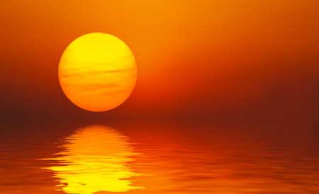 Reflection Sun