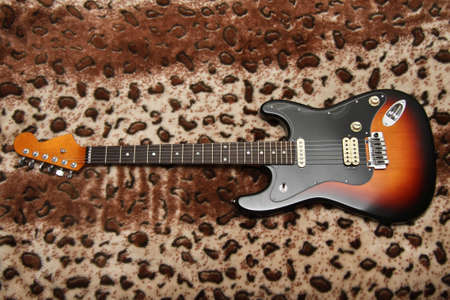 stratocaster: Guitar stratocaster Stock Photo