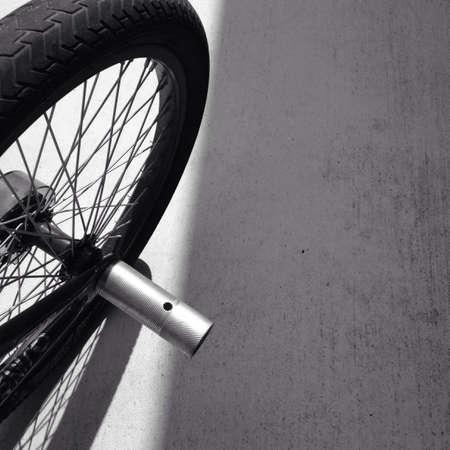 bike wheel: Rear bike wheel