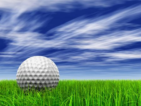 Extremely high resolution golf ball with perfect details