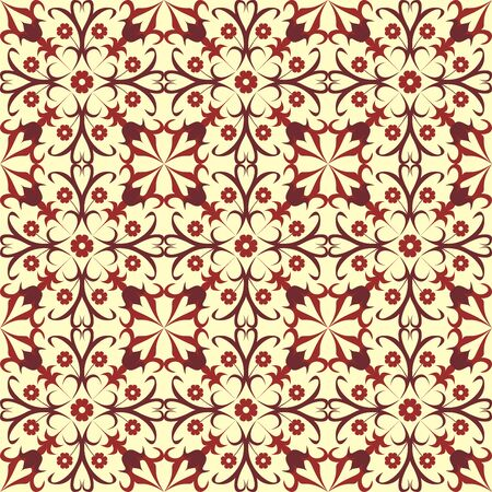 Original pattern inspired by classical ornaments as vector Vector