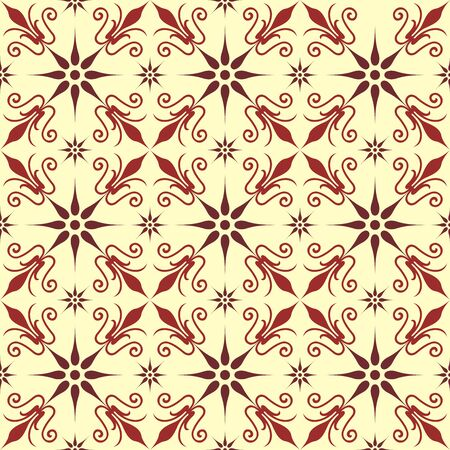 Original pattern inspired by classical ornaments as vector