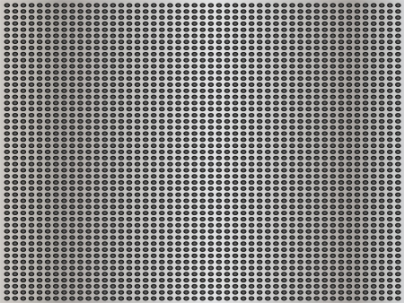Gray metal steel or aluminum texture background photo
