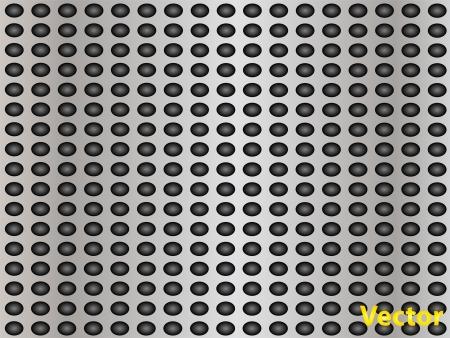 gray metal steel or aluminum texture background Stock Vector - 20377852