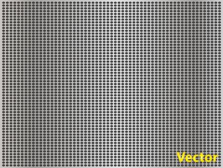 gray metal steel or aluminum texture background Vector