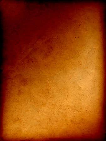 quemado: Conceptual marr�n de �poca antigua quem� el fondo de papel