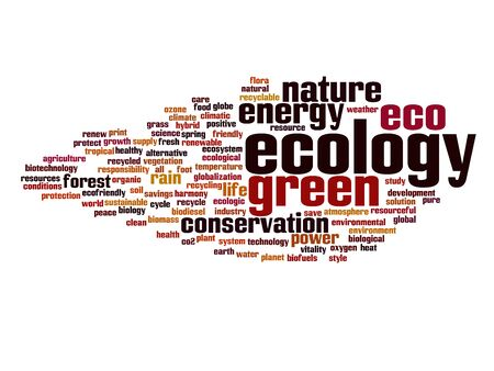 clean energy: ecology, nature, environment, green, eco, natural, global, energy, word, recycle, cloud, conservation, earth, concept, recycling, organic, environmental, planet, text, tree, illustration, world, clean, background, alternative, life, ecological, protect, d Stock Photo