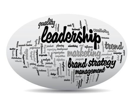 Conceptual business word cloud concept