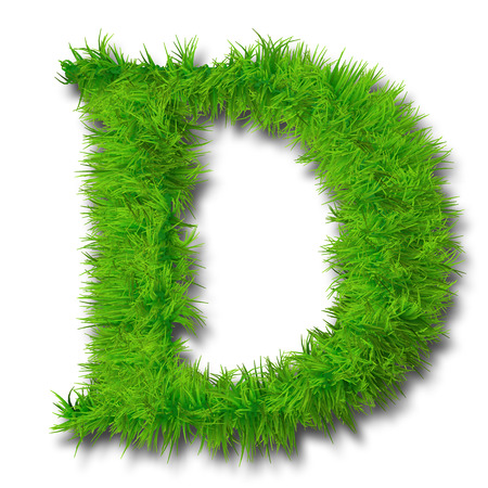 grass, font, green, text, nature, type, design, isolated, natural, letter, alphabet, ecology, white, character, environment, plant, fresh, summer, spring, symbol, set, illustration, 3d, style, leaf, background, texture, abc, typeset, concept, ecological, Banco de Imagens - 37271621