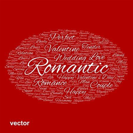 compatibility: Conceptual Love, Valentine or valentine`s Day, wedding word cloud