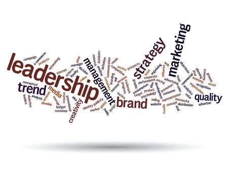 value: Conceptual business marketing word cloud concept isolated on background Stock Photo