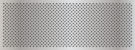 Acero gris de metal o la textura resumen fondo bandera de aluminio Foto de archivo - 48674794