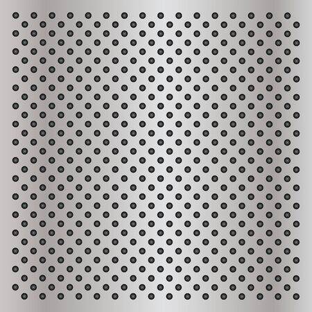 speaker grille: Gray metal steel or aluminum abstract texture background Stock Photo