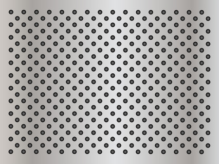 Gray metal steel or aluminum abstract texture background Stock Photo