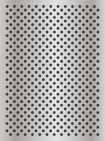 steel grille: Gray metal steel or aluminum abstract texture background Stock Photo
