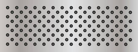 polished netting: Gray metal steel or aluminum abstract texture background banner