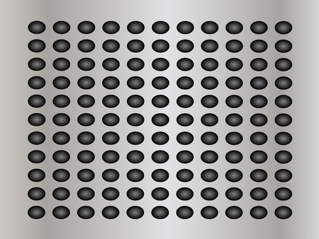polished netting: Gray metal steel or aluminum abstract texture background Stock Photo