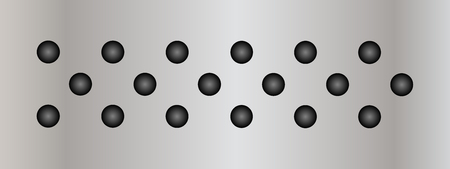 speaker grille pattern: Gray metal steel or aluminum abstract texture background banner