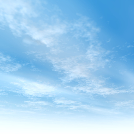 tranquility: Beautiful blue natural sky with white clouds paradise cloudscape background