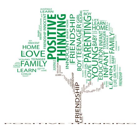 conceptual: Conceptual education tree word cloud background