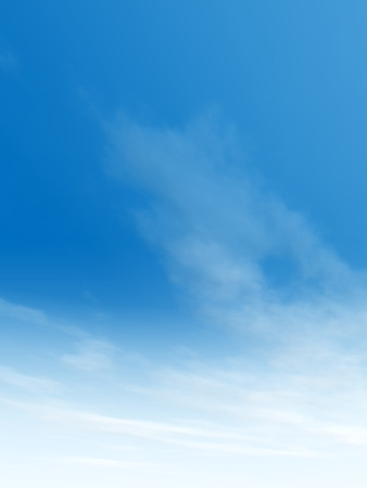 Beautiful blue natural sky with white clouds paradise cloudscape background