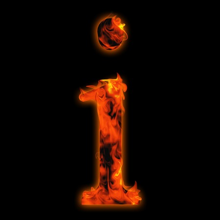 flame letters: Conceptual red hot burning fire font  in red and orange flames isolated on black background
