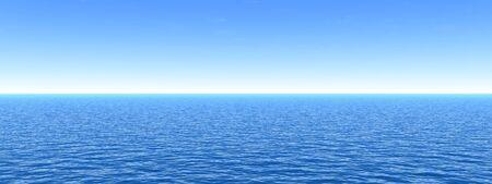 Konzeptionelle Meer oder Meerwasser-Wellen und Himmel cape exotisch oder Paradies Hintergrund Banner Standard-Bild - 54833588