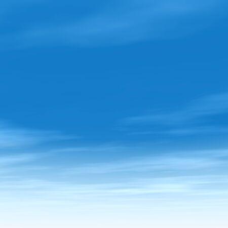 Bella blu cielo naturale con nuvole bianche paradiso Cloudscape sfondo Archivio Fotografico