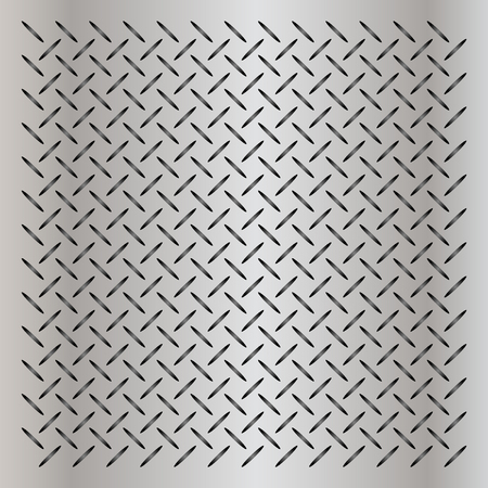 ironworks: Vector concept conceptual gray metal stainless steel aluminum perforated pattern texture mesh background