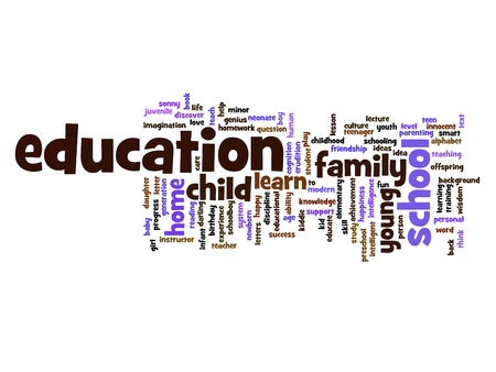love strategy: Conceptual education word cloud concept isolated on background Stock Photo