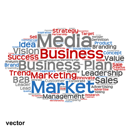 consumerism: Vector conceptual business marketing word cloud concept isolated on background