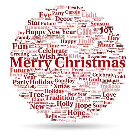 Konzeptionelle Frohe Weihnachten Urlaub Oder Ein Frohes Neues Jahr ...