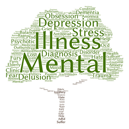 A Conceptual Mental Illness Disorder Management Or Therapy