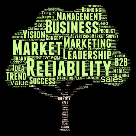 commerce: Conceptual business leadership or media word cloud isolated on background