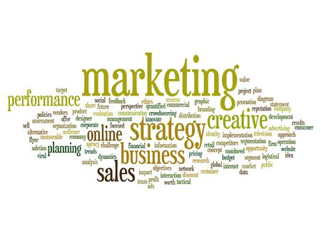 evaluate: Concept or conceptual business marketing target word cloud isolated on background Stock Photo