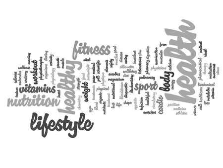 consonance: A Vector conceptual health or diet word cloud concept isolated on background.