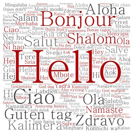 Conceptual abstract hello or greeting international word cloud conceptual abstract hello or greeting international word cloud in different languages stock photo 81921108 m4hsunfo