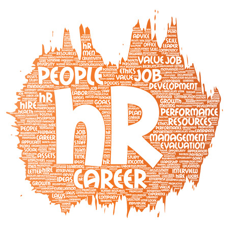 Human resources career management Illustration