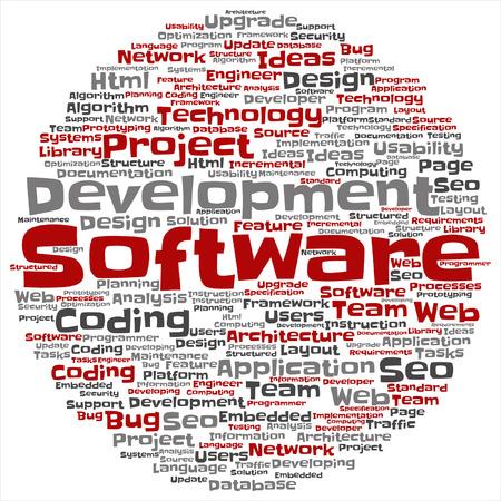 Software development project coding technology