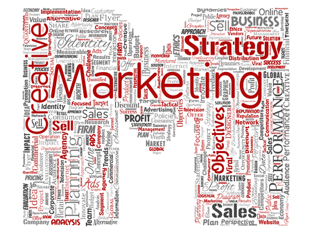 Conceptual development business marketing target letter font M word cloud isolated background. Collage advertising, strategy, promotion branding, value, performance planning or challenge Stock Photo
