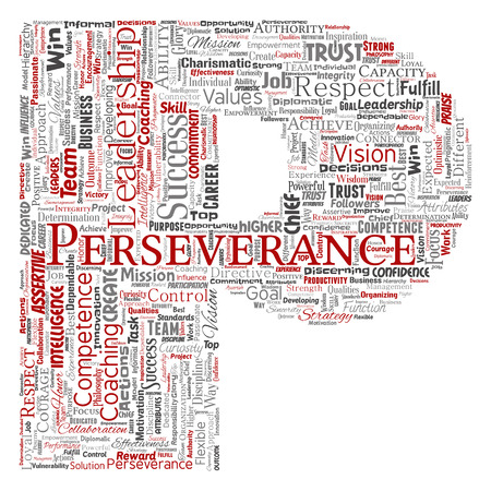 Vector conceptual business leadership strategy, management value letter font word cloud isolated background. Collage of success, achievement, responsibility, intelligence authority or competence