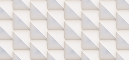 3D pattern made of white and beige geometric shapes, creative background or wallpaper surface made of light and shadow. Futuristic seamless decorative abstract texture design, simple graphic elements