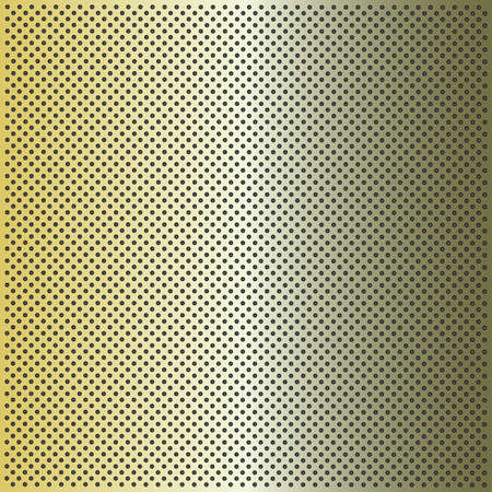 Concept conceptual green metal stainless steel aluminium perforated pattern texture mesh background Banco de Imagens - 155960155