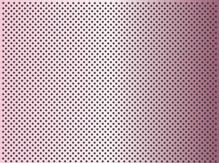 High resolution concept conceptual pink metal stainless steel aluminium perforated pattern texture mesh background Banco de Imagens - 155960194